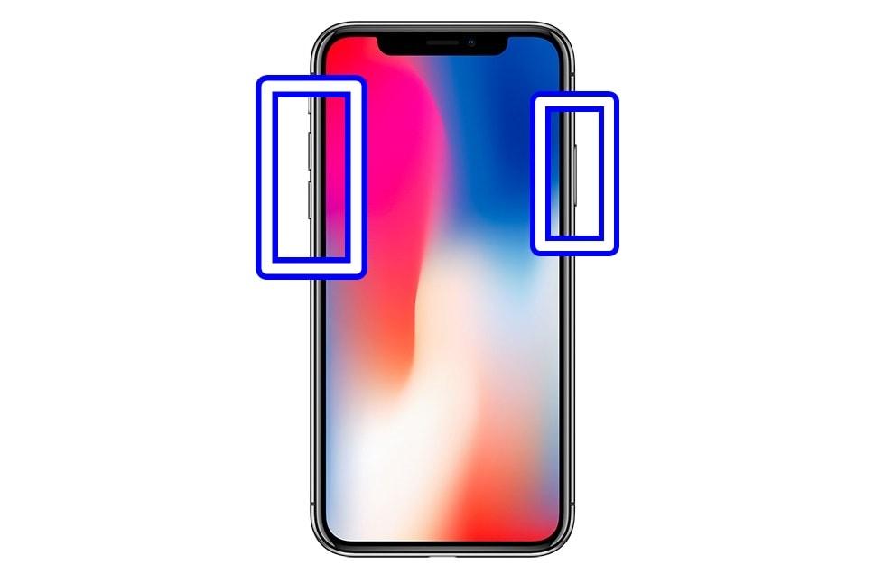 "alt""iPhone Xの再起動方法"""